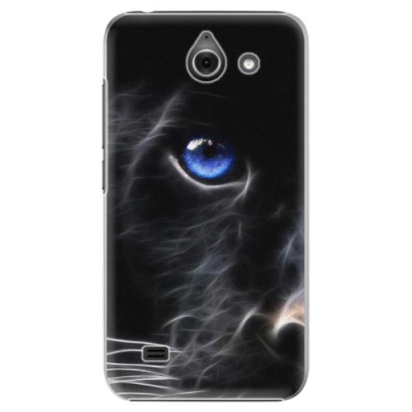 Plastové pouzdro iSaprio - Black Puma - Huawei Ascend Y550