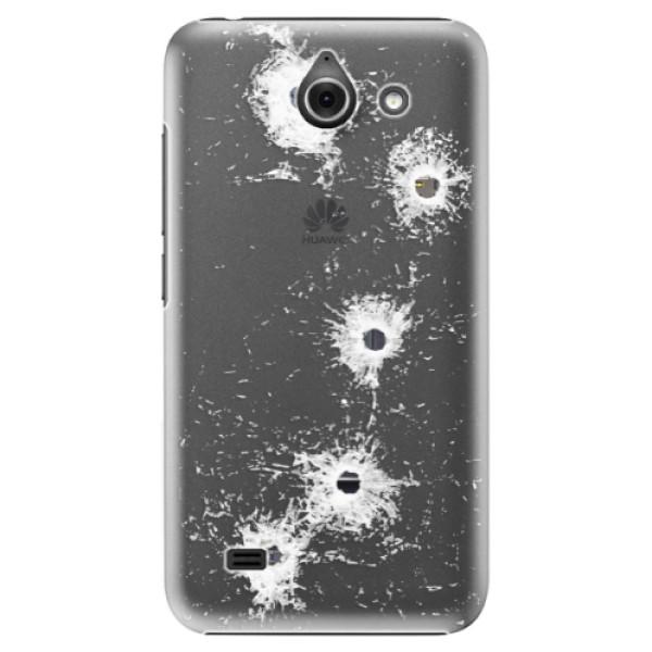 Plastové pouzdro iSaprio - Gunshots - Huawei Ascend Y550