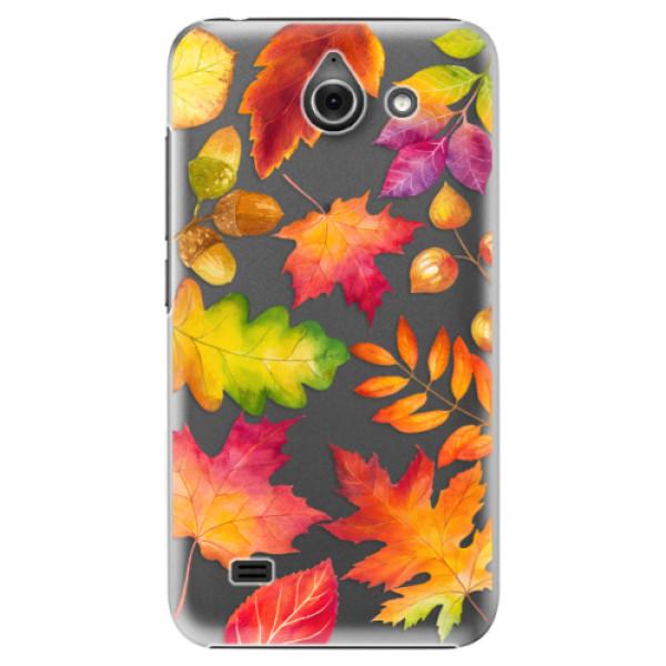 Plastové pouzdro iSaprio - Autumn Leaves 01 - Huawei Ascend Y550
