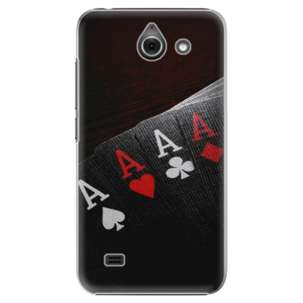 Plastové pouzdro iSaprio - Poker - Huawei Ascend Y550