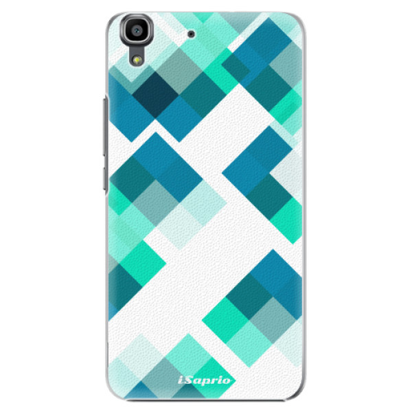 Plastové pouzdro iSaprio - Abstract Squares 11 - Huawei Ascend Y6