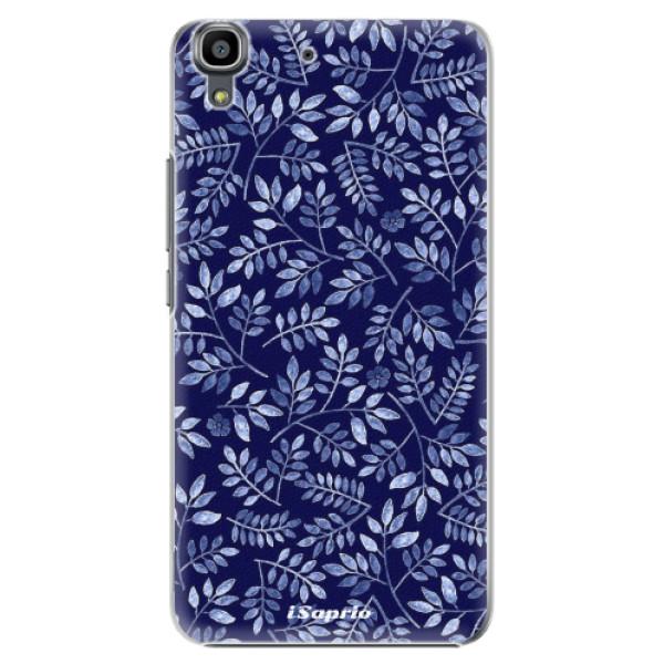 Plastové pouzdro iSaprio - Blue Leaves 05 - Huawei Ascend Y6