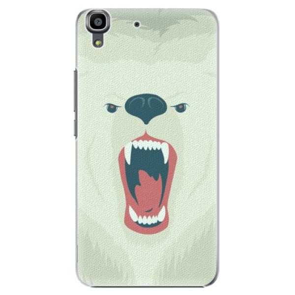 Plastové pouzdro iSaprio - Angry Bear - Huawei Ascend Y6
