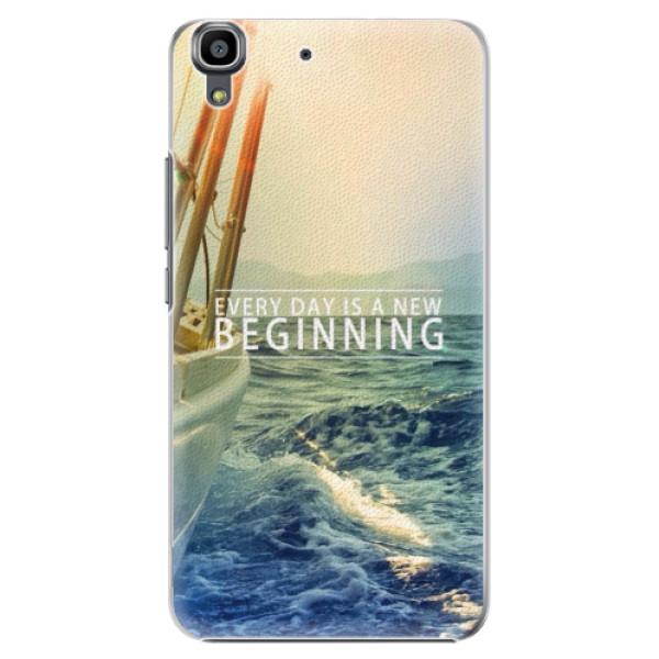 Plastové pouzdro iSaprio - Beginning - Huawei Ascend Y6