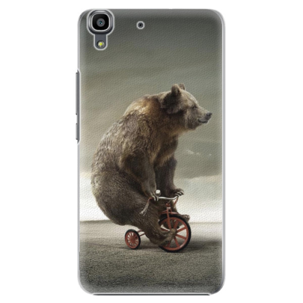 Plastové pouzdro iSaprio - Bear 01 - Huawei Ascend Y6