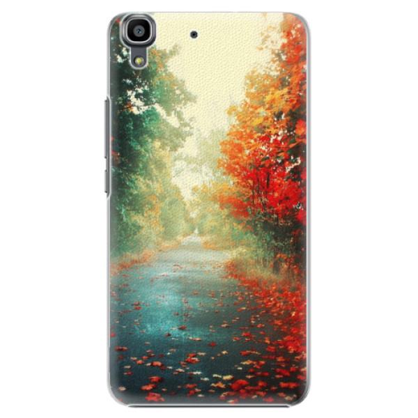 Plastové pouzdro iSaprio - Autumn 03 - Huawei Ascend Y6