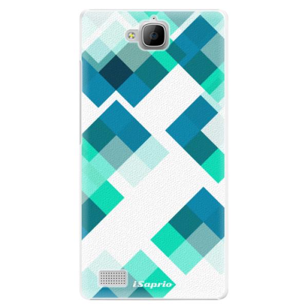 Plastové pouzdro iSaprio - Abstract Squares 11 - Huawei Honor 3C