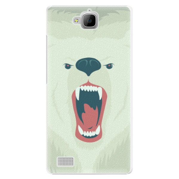 Plastové pouzdro iSaprio - Angry Bear - Huawei Honor 3C