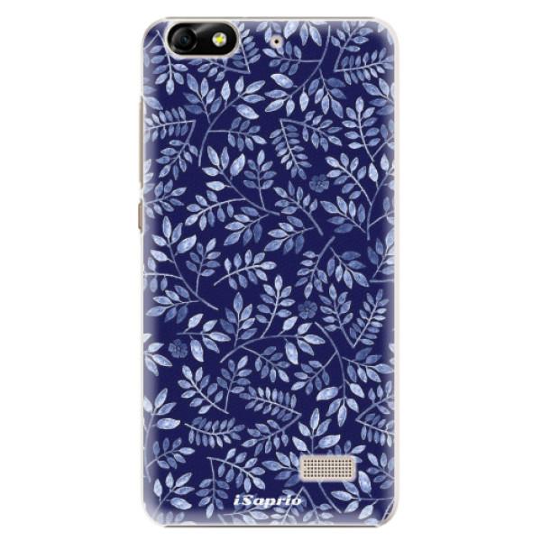 Plastové pouzdro iSaprio - Blue Leaves 05 - Huawei Honor 4C