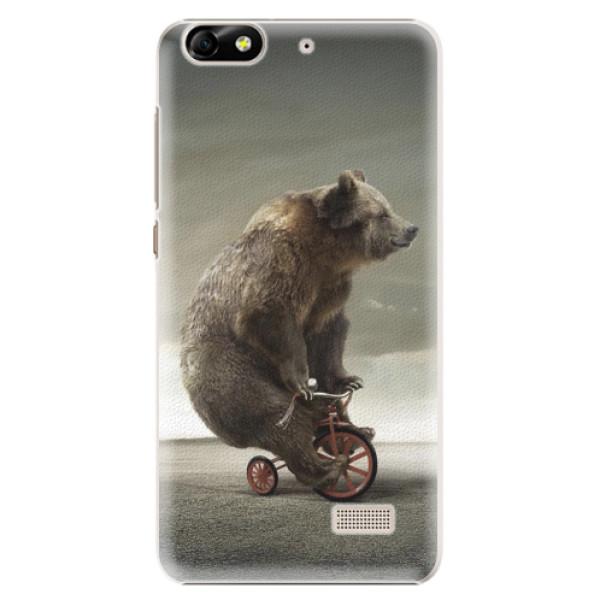 Plastové pouzdro iSaprio - Bear 01 - Huawei Honor 4C