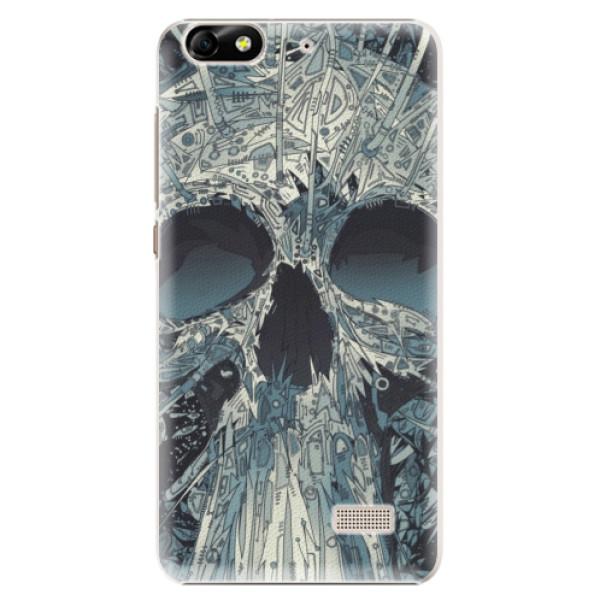 Plastové pouzdro iSaprio - Abstract Skull - Huawei Honor 4C