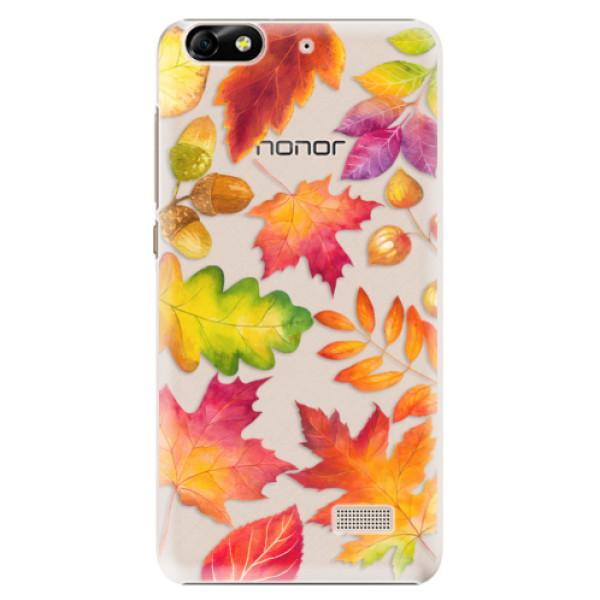 Plastové pouzdro iSaprio - Autumn Leaves 01 - Huawei Honor 4C