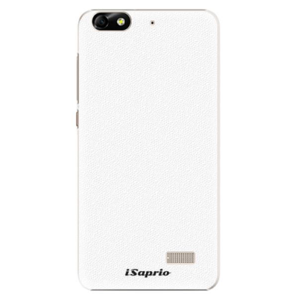 Plastové pouzdro iSaprio - 4Pure - bílý - Huawei Honor 4C