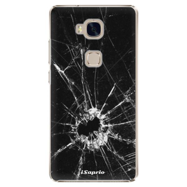 Plastové pouzdro iSaprio - Broken Glass 10 - Huawei Honor 5X