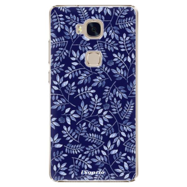 Plastové pouzdro iSaprio - Blue Leaves 05 - Huawei Honor 5X