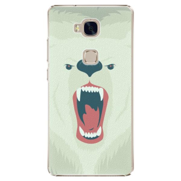 Plastové pouzdro iSaprio - Angry Bear - Huawei Honor 5X
