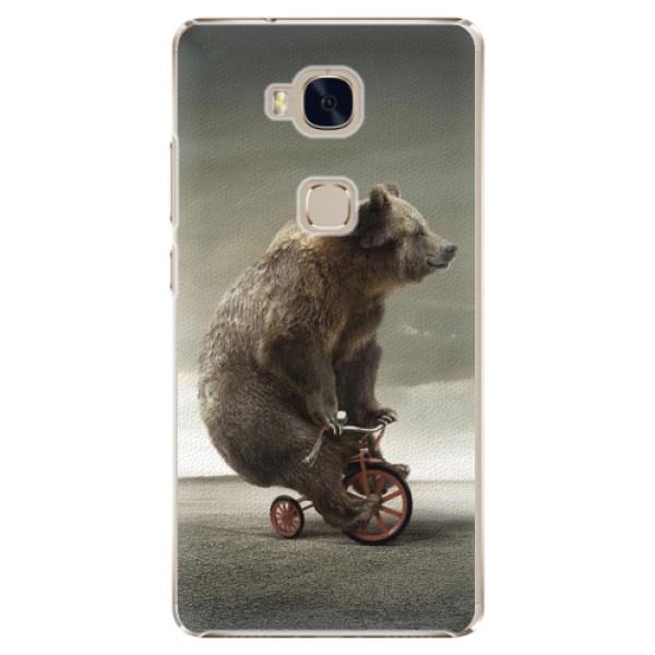 Plastové pouzdro iSaprio - Bear 01 - Huawei Honor 5X