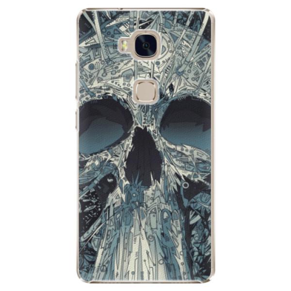 Plastové pouzdro iSaprio - Abstract Skull - Huawei Honor 5X