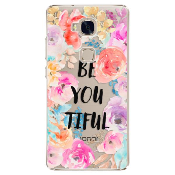 Plastové pouzdro iSaprio - BeYouTiful - Huawei Honor 5X