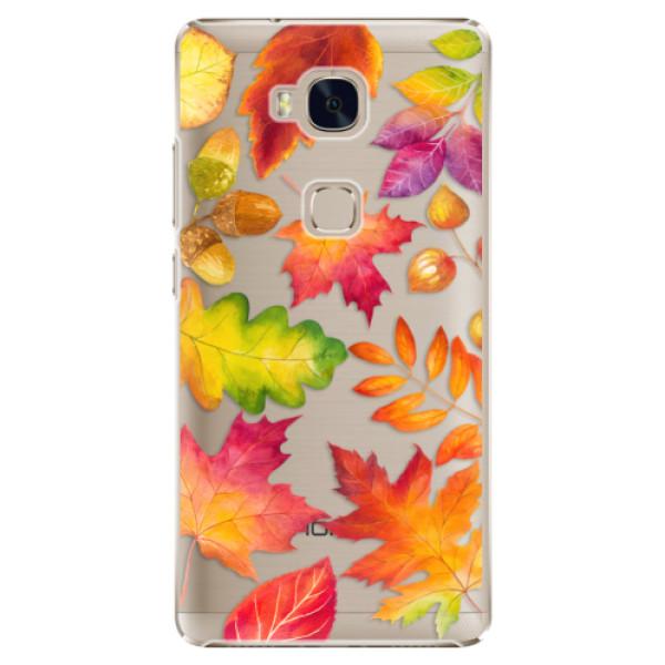 Plastové pouzdro iSaprio - Autumn Leaves 01 - Huawei Honor 5X