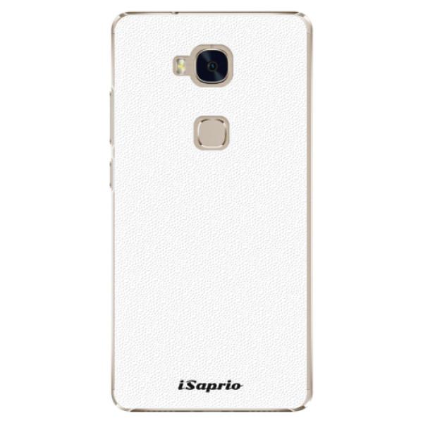 Plastové pouzdro iSaprio - 4Pure - bílý - Huawei Honor 5X
