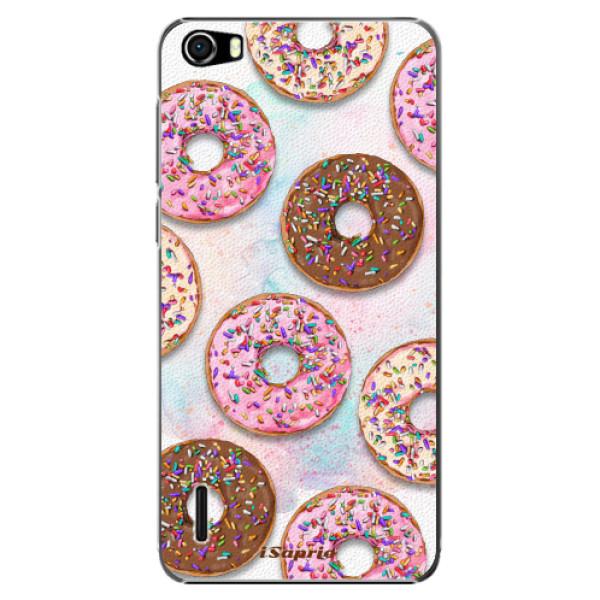 Plastové pouzdro iSaprio - Donuts 11 - Huawei Honor 6