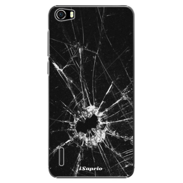 Plastové pouzdro iSaprio - Broken Glass 10 - Huawei Honor 6