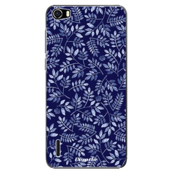Plastové pouzdro iSaprio - Blue Leaves 05 - Huawei Honor 6