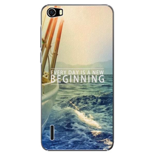 Plastové pouzdro iSaprio - Beginning - Huawei Honor 6