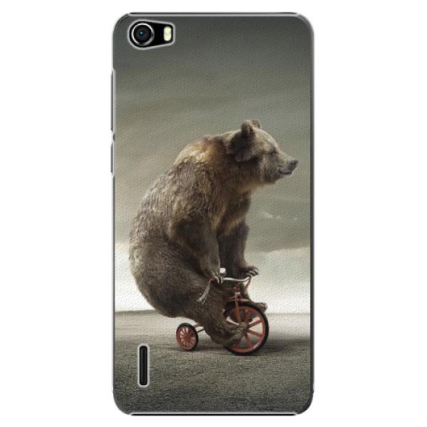 Plastové pouzdro iSaprio - Bear 01 - Huawei Honor 6