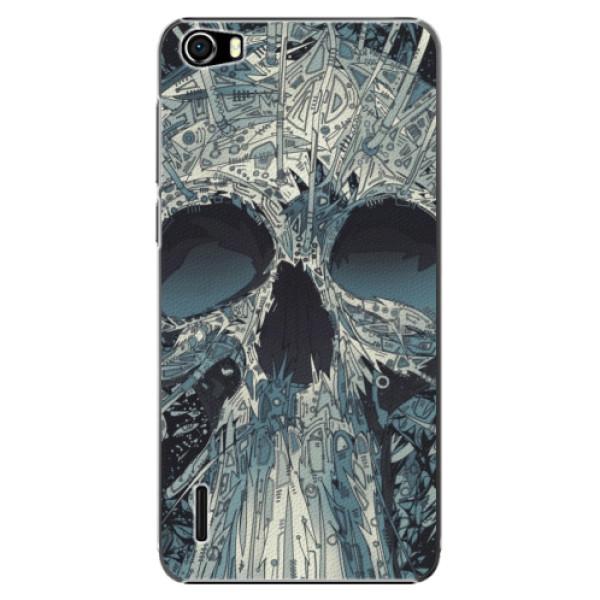 Plastové pouzdro iSaprio - Abstract Skull - Huawei Honor 6