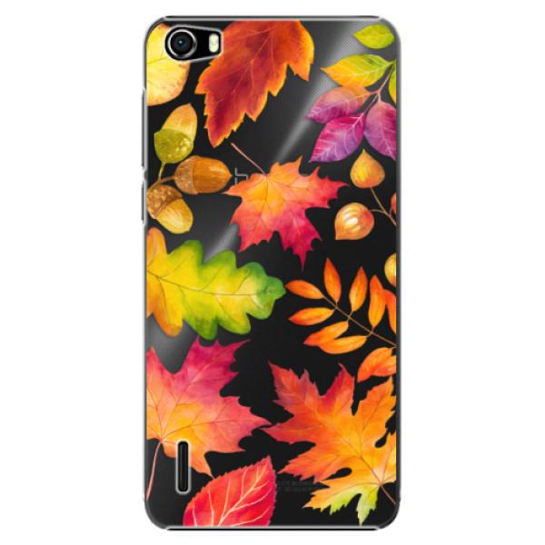Plastové pouzdro iSaprio - Autumn Leaves 01 - Huawei Honor 6