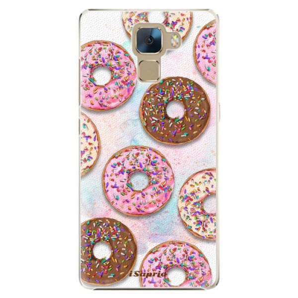 Plastové pouzdro iSaprio - Donuts 11 - Huawei Honor 7