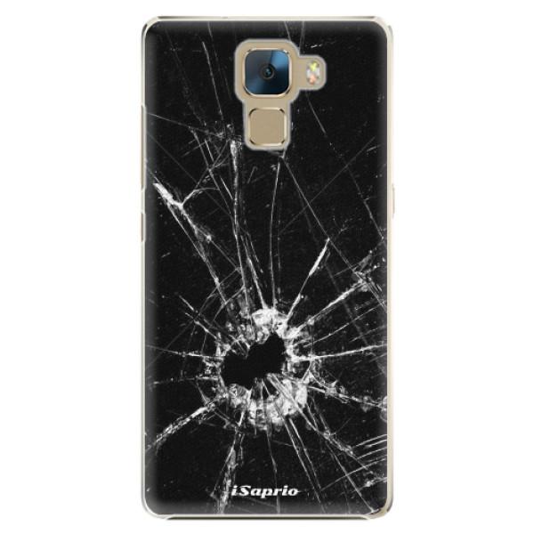 Plastové pouzdro iSaprio - Broken Glass 10 - Huawei Honor 7