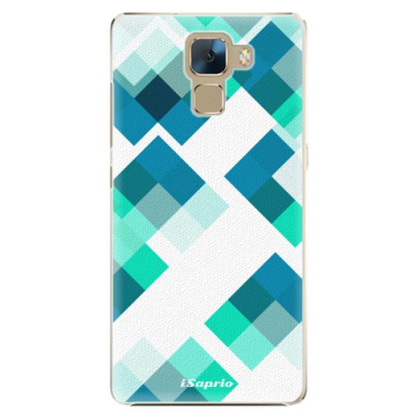 Plastové pouzdro iSaprio - Abstract Squares 11 - Huawei Honor 7