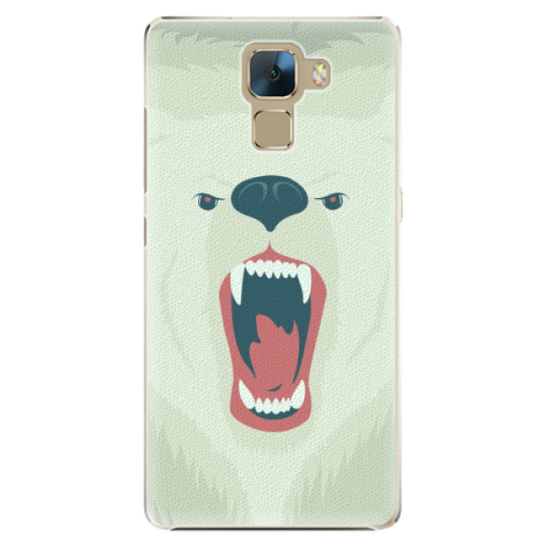 Plastové pouzdro iSaprio - Angry Bear - Huawei Honor 7
