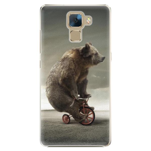 Plastové pouzdro iSaprio - Bear 01 - Huawei Honor 7