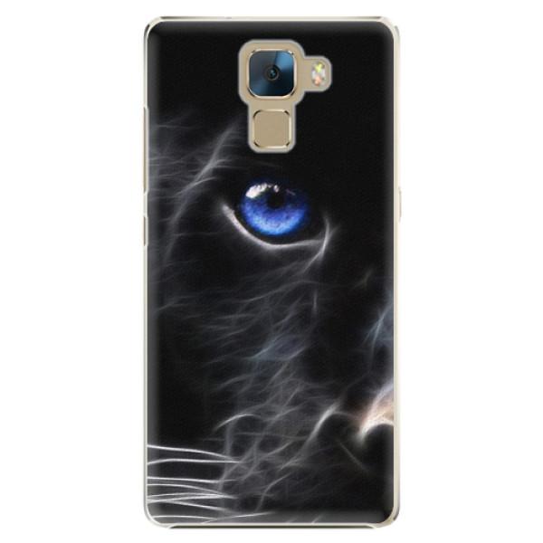 Plastové pouzdro iSaprio - Black Puma - Huawei Honor 7