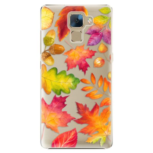 Plastové pouzdro iSaprio - Autumn Leaves 01 - Huawei Honor 7