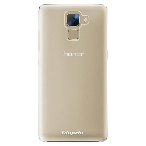 Plastové pouzdro iSaprio - 4Pure - mléčný bez potisku - Huawei Honor 7