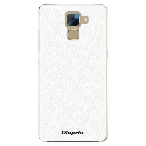 Plastové pouzdro iSaprio - 4Pure - bílý - Huawei Honor 7