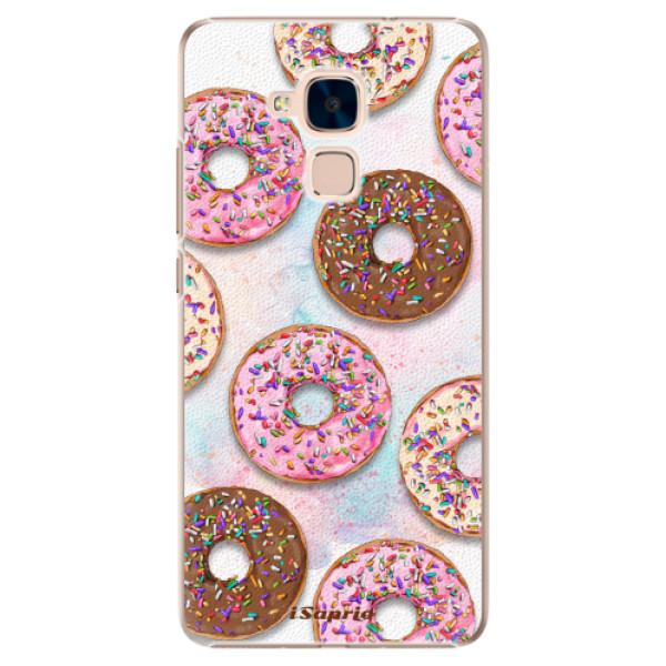 Plastové pouzdro iSaprio - Donuts 11 - Huawei Honor 7 Lite