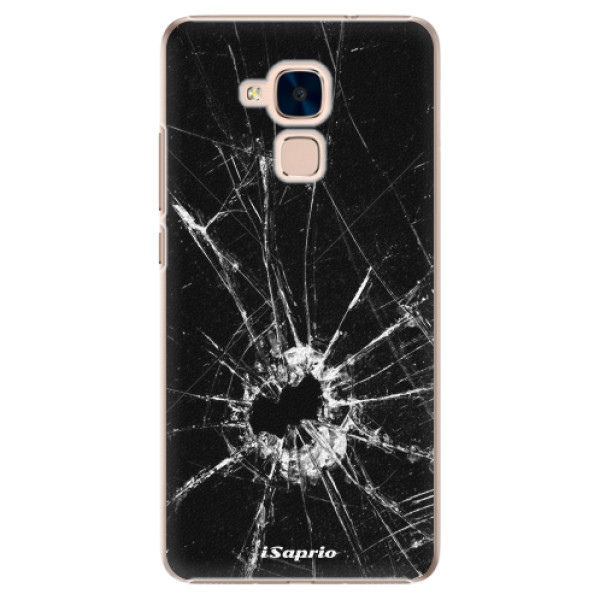 Plastové pouzdro iSaprio - Broken Glass 10 - Huawei Honor 7 Lite