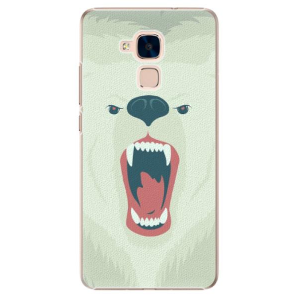 Plastové pouzdro iSaprio - Angry Bear - Huawei Honor 7 Lite
