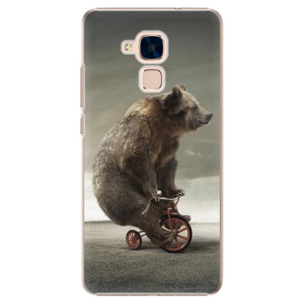 Plastové pouzdro iSaprio - Bear 01 - Huawei Honor 7 Lite