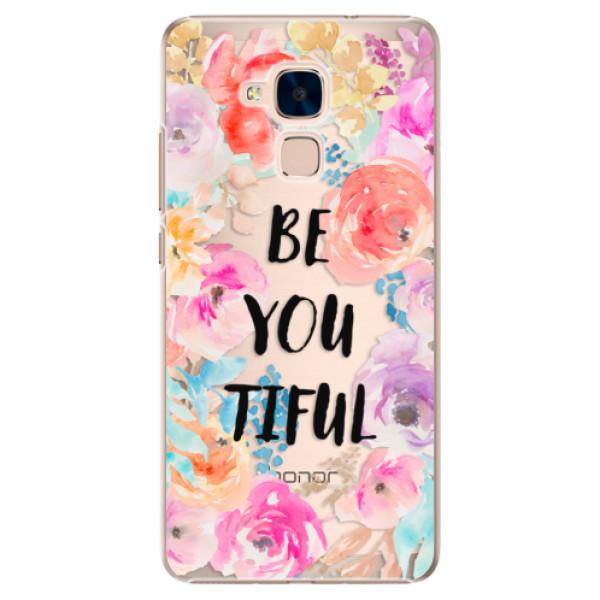 Plastové pouzdro iSaprio - BeYouTiful - Huawei Honor 7 Lite