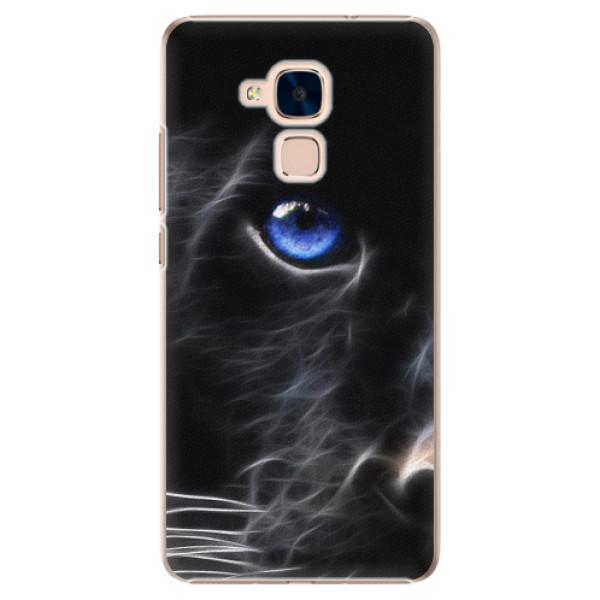 Plastové pouzdro iSaprio - Black Puma - Huawei Honor 7 Lite