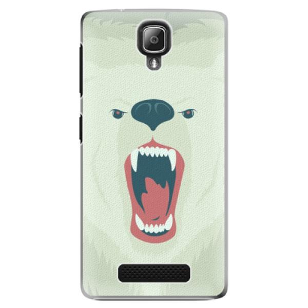 Plastové pouzdro iSaprio - Angry Bear - Lenovo A1000