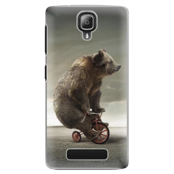 Plastové pouzdro iSaprio - Bear 01 - Lenovo A1000