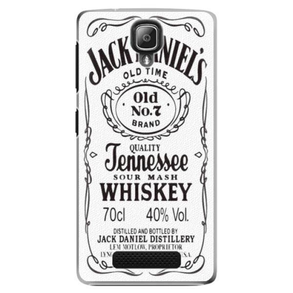 Plastové pouzdro iSaprio - Jack White - Lenovo A1000